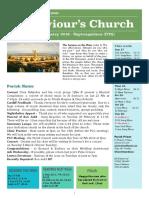 st saviours newsletter - 17 february 2019