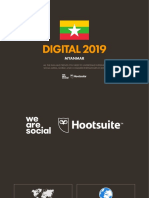 Digital 2019 Myanmar