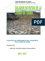 4 Pdu-plan Regulador de Rutas Tarma 2013