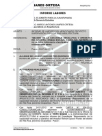 Informe de Labores Villarica 001 -2014 Pago