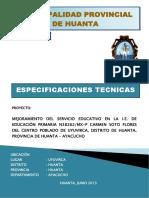 03 Especificaciones Técnicas Soto Flores