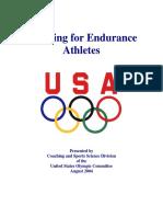 Training for Endurance Athletes