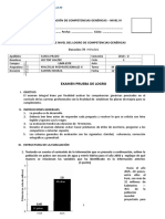 Segundo Examen de Prueba de Logro Sanca Prado