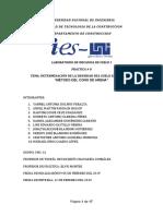 Mecanica de Suelo Informe 8