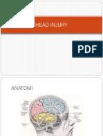 tutor minggu IX - HEAD INJURY.pptx
