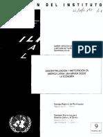 Descentralización y Participación en AL. Cepal.