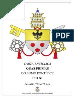7506262 Carta Enciclica Quas Primas
