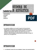 Distribuidora de Carpeta Asfáltica 1ra Expo Maquinaria - En Proceso Parte 1