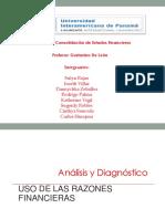Razones Financiera - Matriz y Subsidiaria (1)
