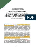 Betancourt / Porto-Gonçalvez Extractivismo