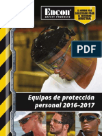 Encon PPE Catalog 2016 Spanish