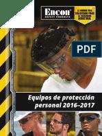 Encon PPE Catalog 2016 Spanish