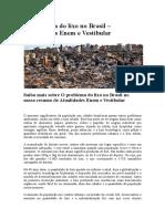 O problema do lixo no Brasil.docx