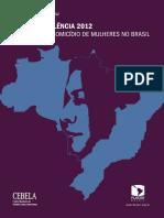 Mapa Da Violência 2012-A Cor Dos Homicídios No Brasil