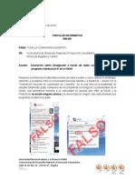 Ajustada Circular Informativa 500-001 - Información Generación E