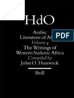 Arabic Literature of Africa. Volume 4. The Writings of Western Sudanic Africa.(Brill, HdO, 2003).pdf