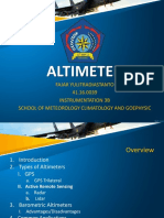 Technical Presentation - Altimeters