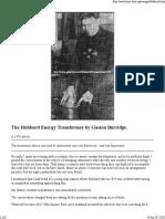 Hubbard Amplifying Transformer