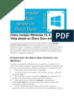 Cómo instalar Windows 10, 8.1, 8, 7 o Vista desde un Disco Duro externo.docx