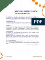 Undecanoato de Testosterona