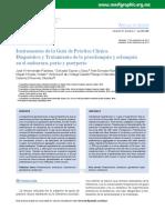 Algoritmo Dx y TX Preeclampsi y Eclampsia