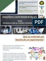 1. Diseños experimentales
