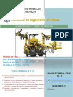 Trabajo de Maquinarias y Equipo Minero -  minas unh
