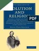 Beecher, Evolution and Religion v2