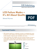 LCD Failure Modes