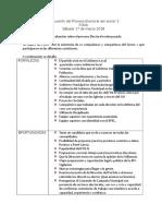 Evaluación Del Proceso Electoral Del Sector 2