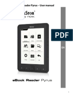 TrekStor eBook Reader Pyrus Manual V1-10 en 2012-04-26