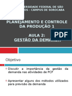 Aula_Gestão Da Demanda