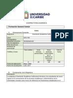 Sílabo EDU-105 Orientacion Acádemica