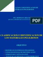 Clasif. e Identifi. de Mater. Peligrosos