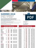 Split Airport Summer TT2018