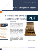 eCommerce Chargeback Report