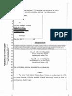 Steven Downs' Charging Document in Cold Case Rape, Murder in Alaska