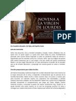 Novena a la Virgen de Lourdes.docx