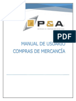 MANUAL DE COMPRAS SOFTWARE SAG