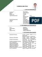 CV PercyHuertasNiquen