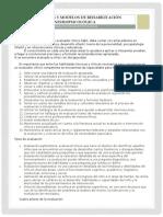 Paradigmas y Modelos de Rehabilitación Neuropsicológica