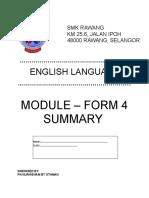 Summary Module (answers)