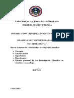 Universidad Nacional de Chimborazo Investigacion Sebastia Piedra