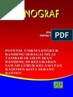 Buku Monograf Lengkur Bandeng