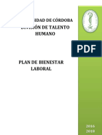 Plan Bienestar Laboral Documento