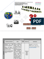 3er Grado 2o Trimestre 2018-2019