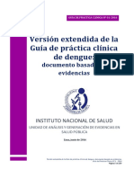 Guia de Practica Clinica Dengue - Version Extensa