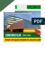 Edital Verticalizado CLDF Técnico Legislativo Secretario