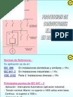 Proteccion de Cables en Baja Tension - Iec