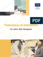 - Traducteurs Et Interprètes - Le Sens Des Langues